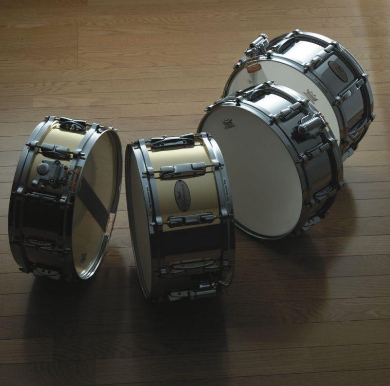 Pearl Reference Series Metal Snare Drums