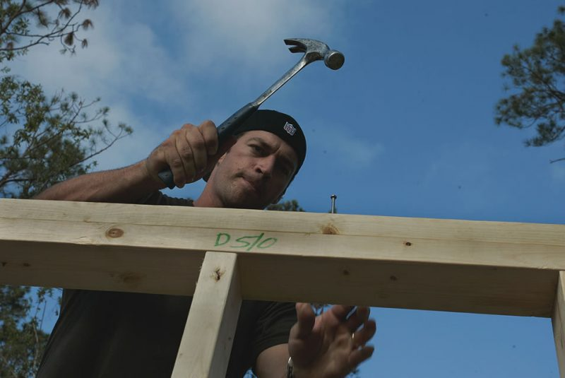 Harry Connick Jr. helps to rebuild in New Orleans (courtesy of Habitat for Humanity International)