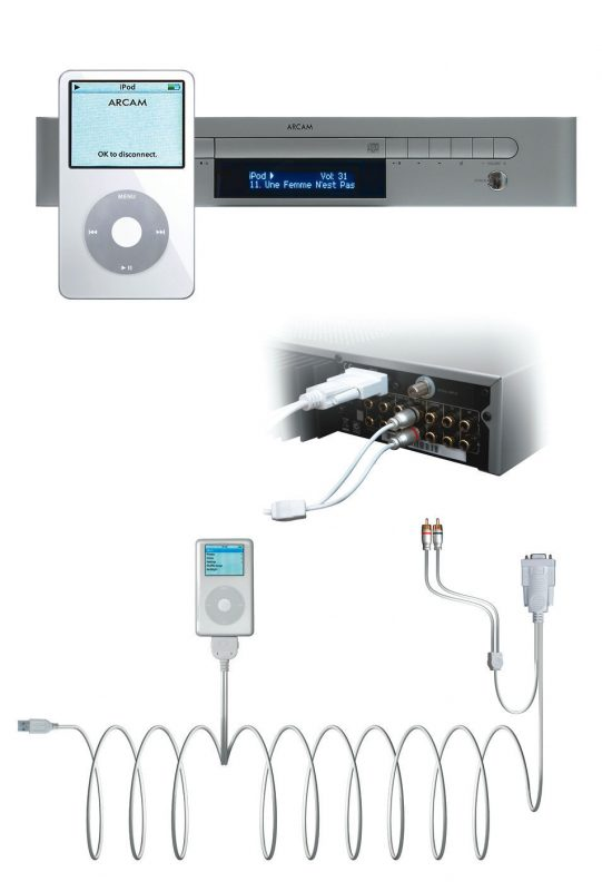Arcam rLead for iPod and Arcam Solo