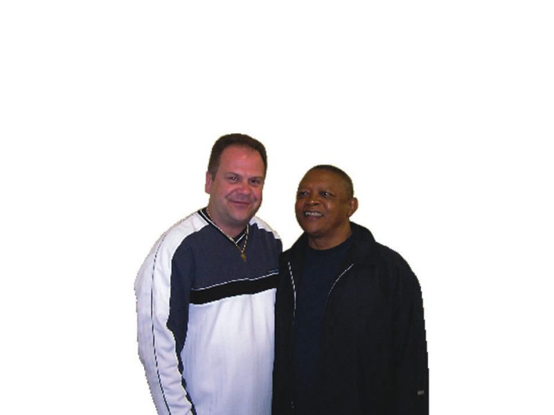 Dave Love and Hugh Masekela