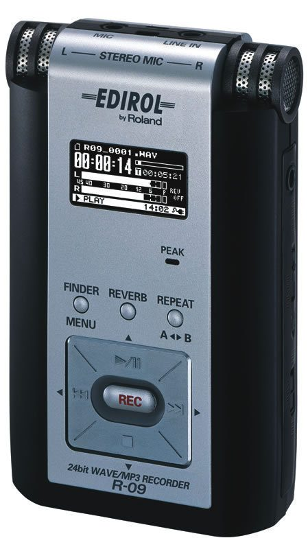 Edirol R-09 WAV/MP3 Recorder