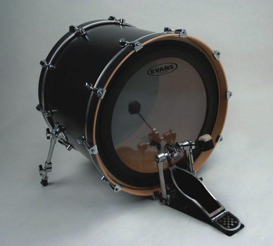 evans emad 2 bass drum heads jazztimes. Black Bedroom Furniture Sets. Home Design Ideas