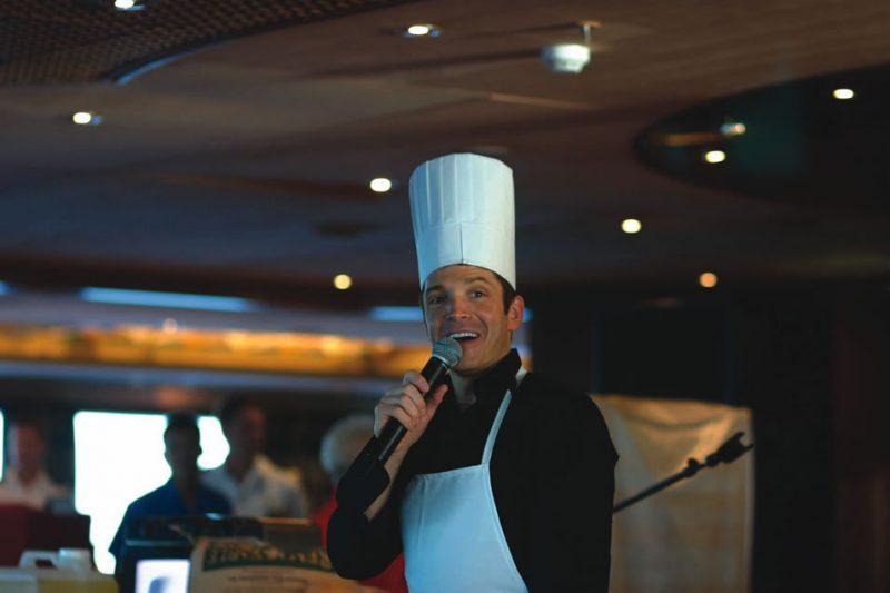 Dave Koz on a jazz cruise
