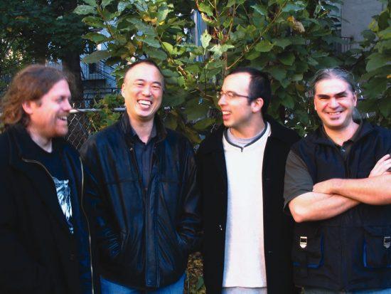 Jason Kao Hwang's Edge (L to R): Andrew Drury, Hwang, Taylor Ho Bynum, Ken Filiano image 0