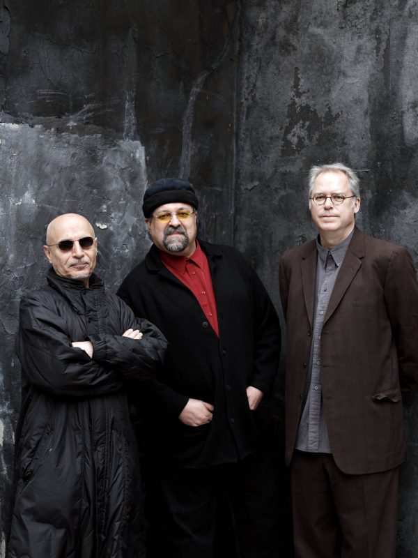 Paul Motian, Joe Lovano and Bill Frisell