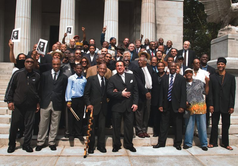 From Max Roach's funeral