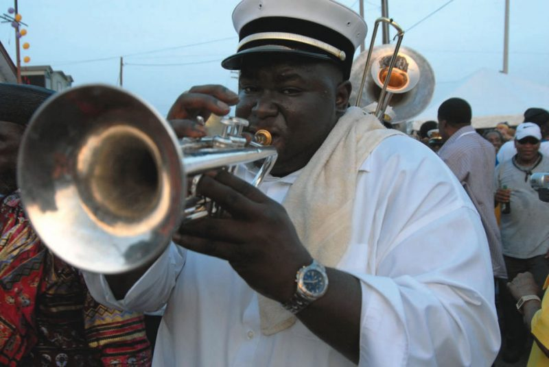 Scenes from second-line season, 2003-2006.