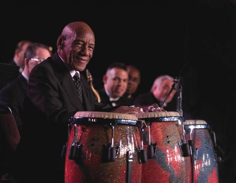 Newly minted Jazz Master Candido Camero