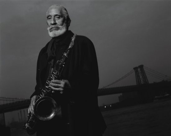 Sonny Rollins, Williamsburg Bridge, New York, 2005 image 0
