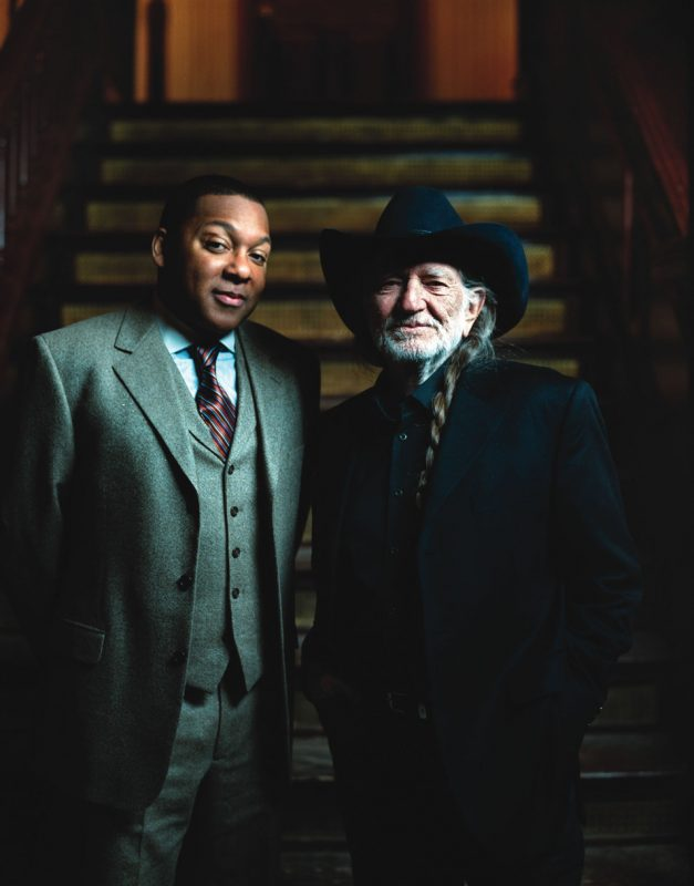 Wynton Marsalis with Willie Nelson