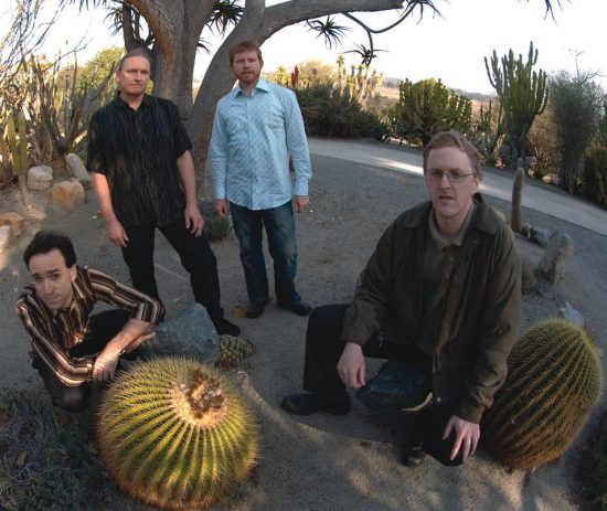 Cosmologic (L to R): Michael Dessen, Scott Walton, Jason Robinson and Nathan Hubbard image 0
