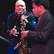 Jon Irabagon performs with Dee Dee Bridgewater; Oct. 26, 2008, Los Angeles image 0