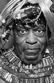 "Jazz pioneer, bandleader, mystic, philosopher, and consummate Afro-Futurist, Sun Ra, (born Herman Poole Blount 1914, Birmingham, Alabama, died 1993) and his personal mythology have grown increasingly relevant to a broad range of artists and communities. ""Pathways to Unknown Worlds: Sun Ra, El Saturn & Chicago's Afro-Futurist Underground, 1954-1968"" presents a collection of paintings, drawings, prints, […]"