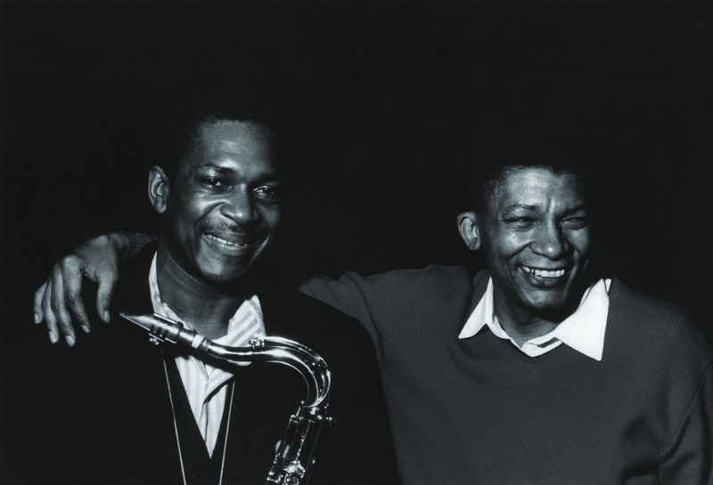 John Coltrane with Johnny Hartman, Van Gelder Studio, Englewood Cliffs, NJ 1963