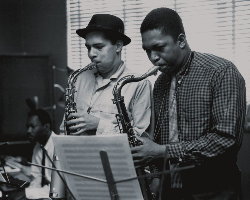 John Coltrane with Jackie Mclean, Van Gelder Studio, Hackensack, NJ 1957