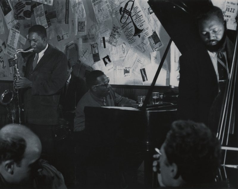 John Coltrane with Shadow Wilson, Thelonious Monk and Ahmed Abdul-Malik, The Five-Spot, New York, NY 1957