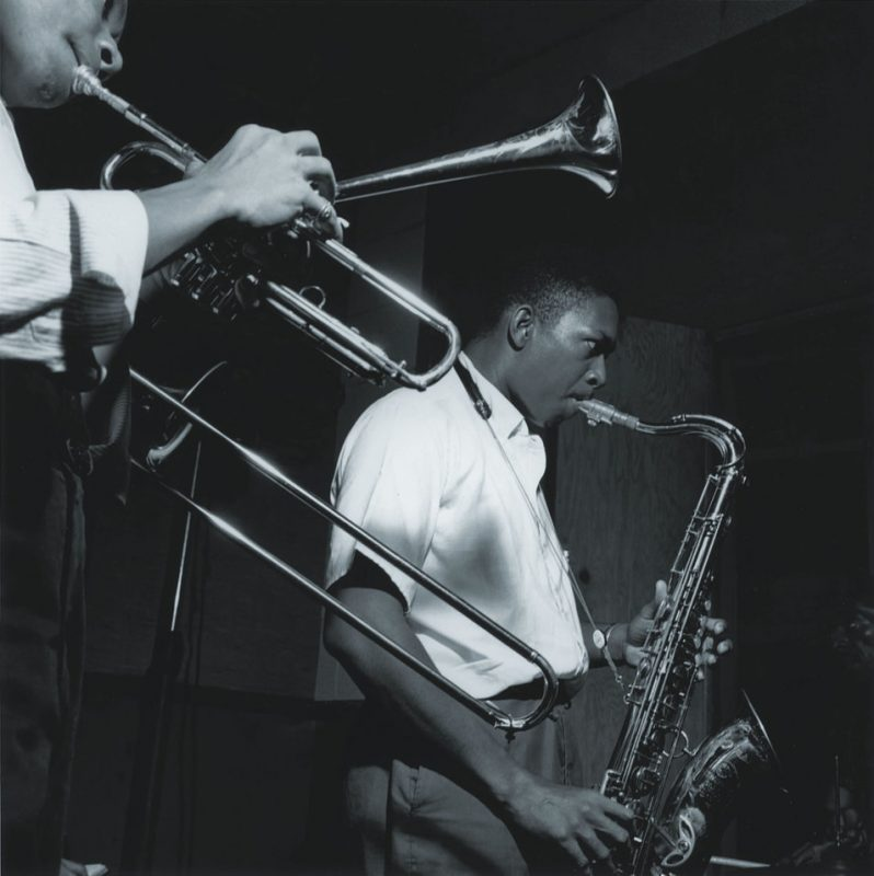 John Coltrane with Lee Morgan, Van Gelder Studio, Hackensack, NJ 1957