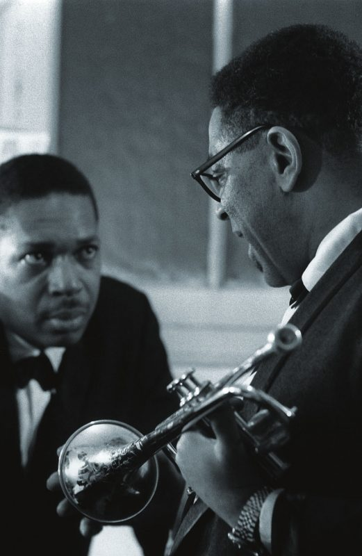 John Coltrane with Dizzy Gillespie, The Olympia, Paris 1961