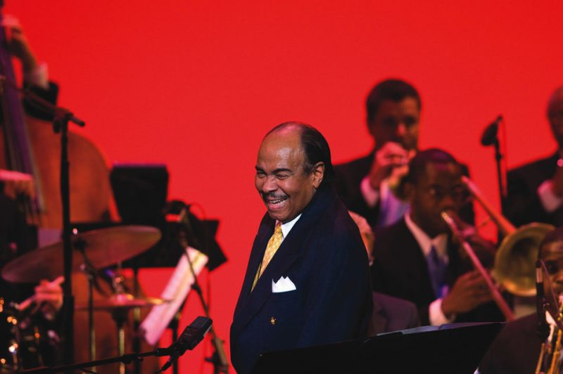 Benny Golson celebrating his 80th birthday with the Clayton-Hamilton Jazz Orchestra at Washington, DC's Kennedy Center; Jan. 24, 2009