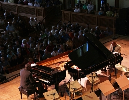 Mulgrew Miller & Kenny Barron duet at Tanglewood