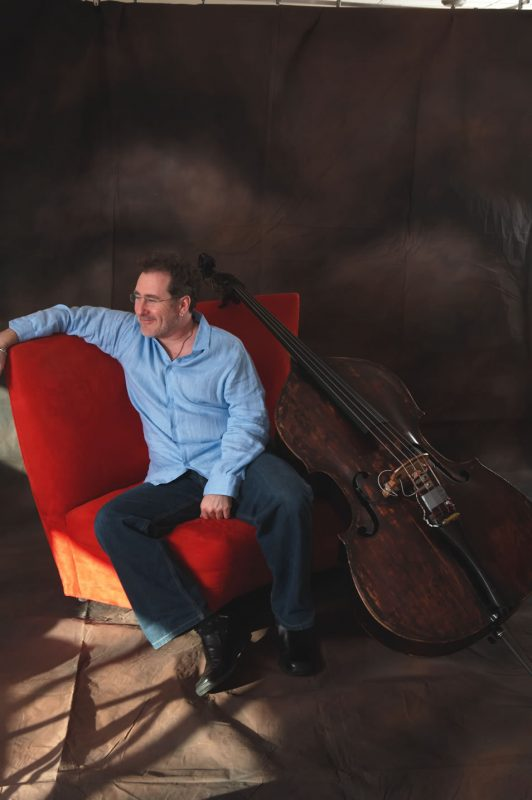 Brian Bromberg and his 300 year old bass
