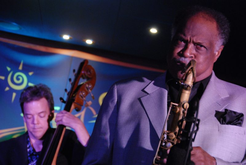 Jon Burr and Houston Person on The Jazz Cruise 2009