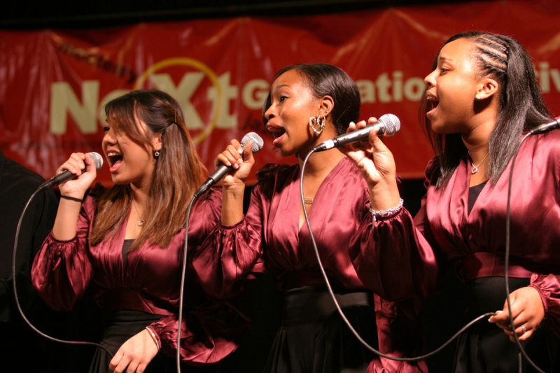 Los Angeles County HS Vocal Group at Next Generation Festival