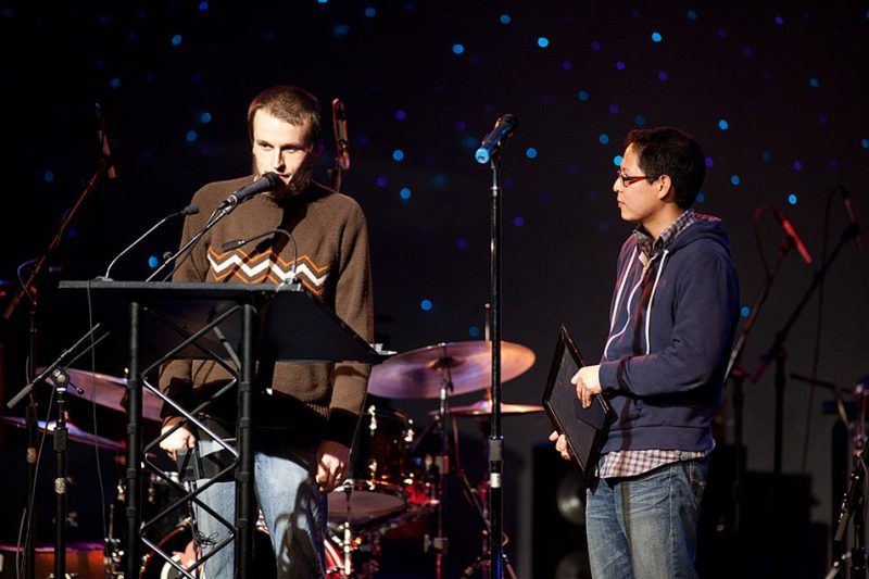 Neil Welch and Chris Icasiano won 2009 NW Alternative Jazz Group for Duo