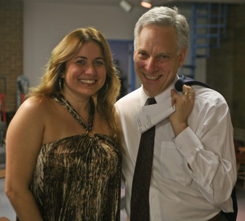 Heloisa Fernandes and Michael Grofsorean