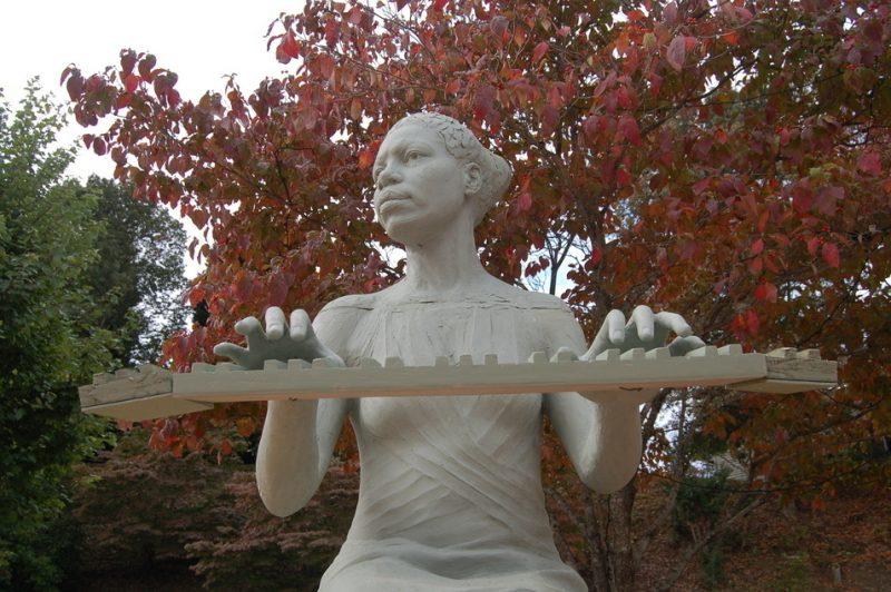 Nina Simone Memorial in Tryon, NC
