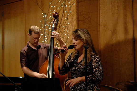 Ike Sturm and Janet Planet at Tritone Jazz Fantasy Camp in Baileys Harbor, Wisconsin