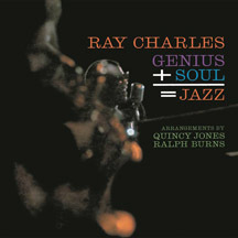 Ray Charles's Genius+Soul=Jazz