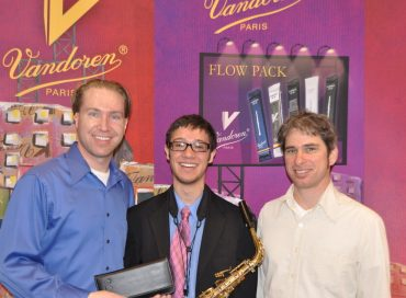 College Junior Named Top Sax Soloist
