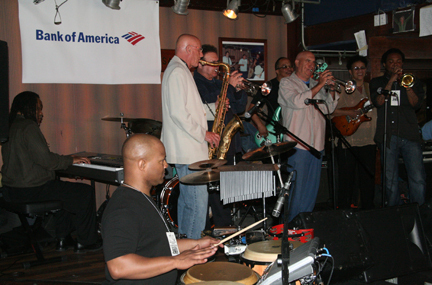 Jam session at Carney's Main Room during Cape May Jazz Festival