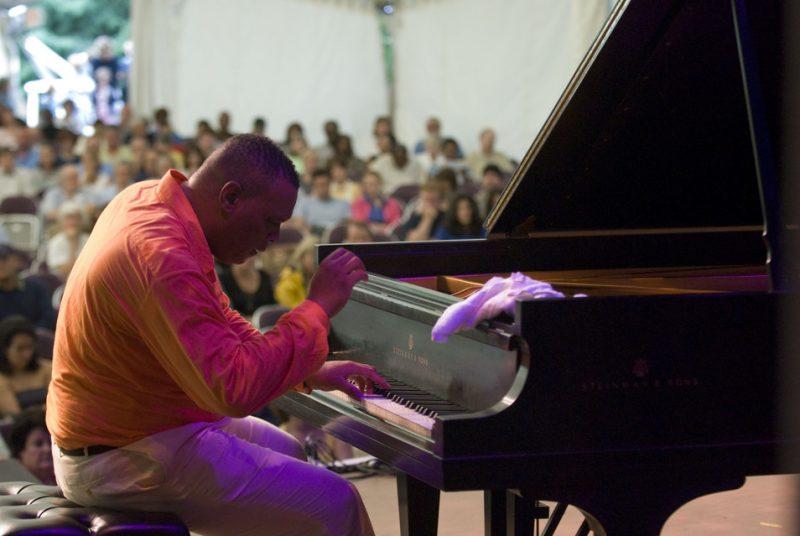 Chucito Valdes at Caramoor Festival
