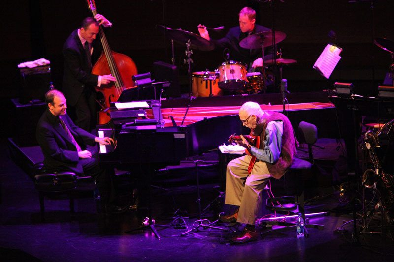 JIm Hall and Bill Charlap performing music of Bill Evans