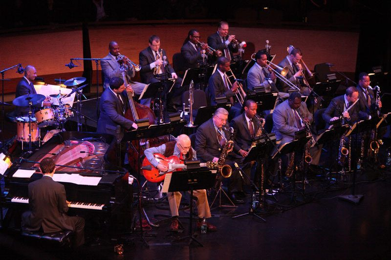 Jim Hall and Bill Charlap with Jazz at Lincoln Center Orchestra
