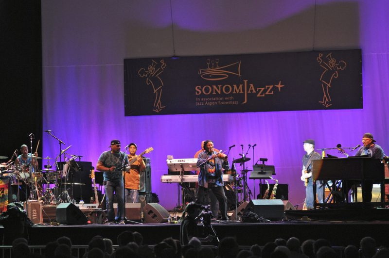 Neville Brothers at Sonoma Jazz+