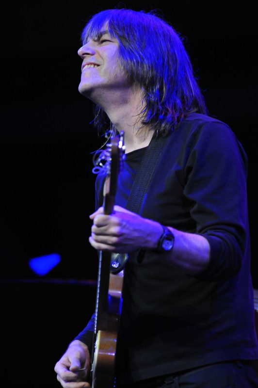 Mike Stern performing with Yellowjackets at Jazz at Lincoin Center