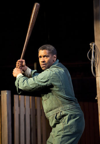"Denzel Washington as Troy Maxson in ""Fences"""