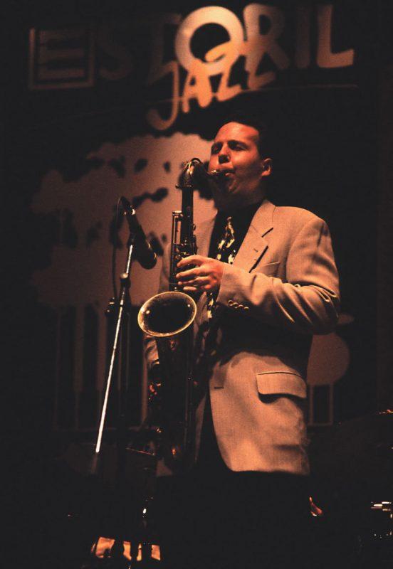 Harry Allen at the Estoril Jazz Festival in Portugal, 1999