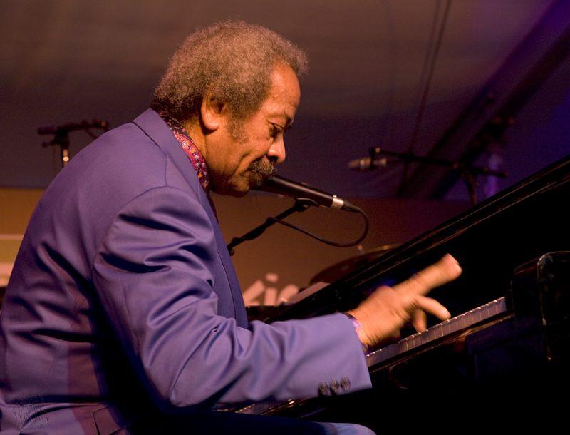 Allen Toussaint performing at Toronto International Jazz Festival