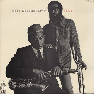 Cover of album by Bill Dixon and Archie Shepp