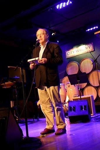 Gary Giddins at JJA awards in NYC