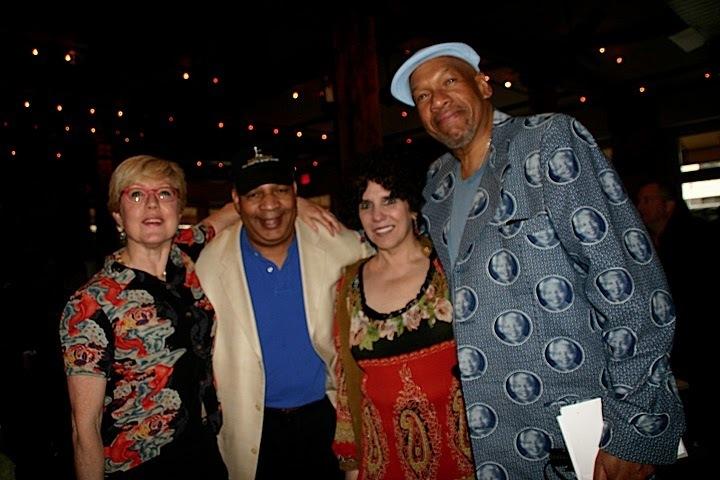 Elzy Kolb, Al Pryor, Lois Gilbert and Willard Jenkins at JJA awards in NYC