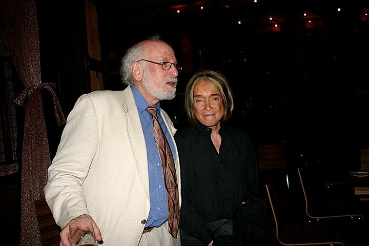 Rafi Zabor and Sue Mingus at JJA awards in NYC
