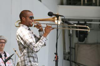 Trombone Shorty at 2010 Playboy Jazz Festival
