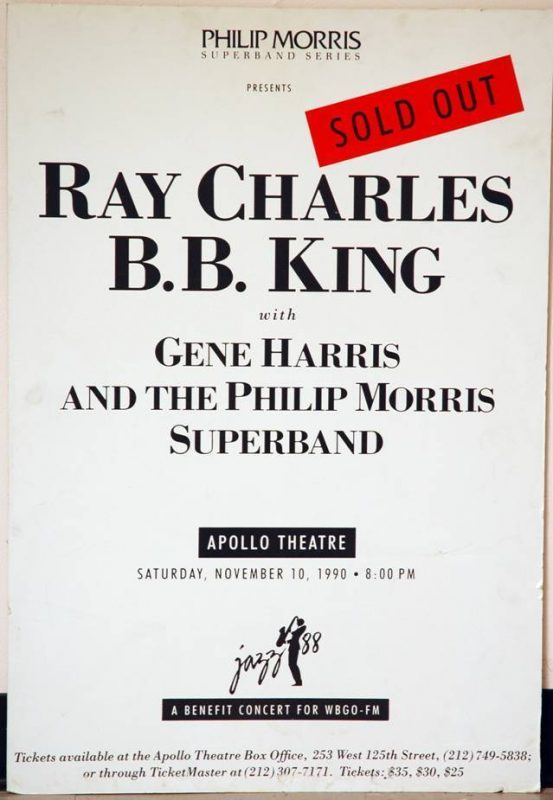 Poster of Apollo Theater performance