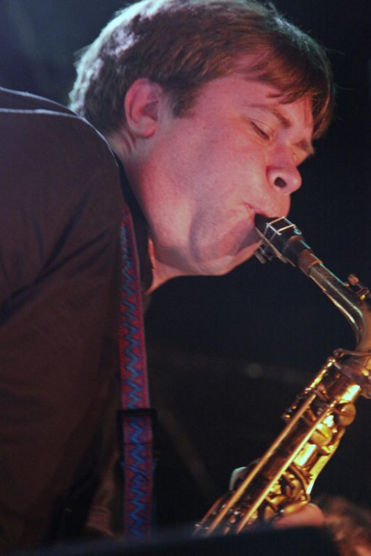 Travis Sullivan of the Bjorkestra