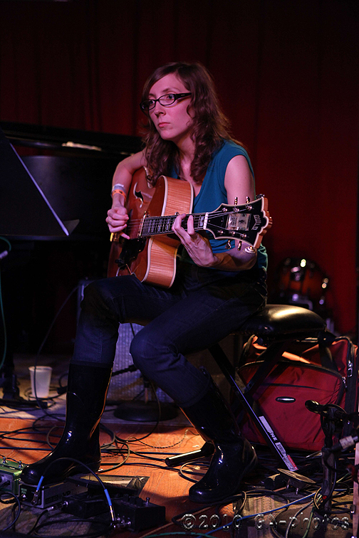 Mary Halvorson at Undead Jazzfest 2010